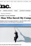"""""""Transformation comes in unexpected places.I met the father of the 'Theory of Constraints' just once, but his impact was profound."""" In """"The Man Who Saved My Company,"""" published this week […]"""