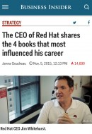 "Jim Whitehurst, Red Hat CEO and author of The Open Organization, recently told Business Insider that Eli Goldratt's business novel The Goal is his ""favorite business book ever."" The former […]"